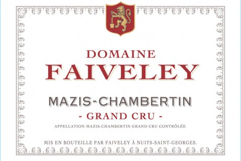 "Domaine Faiveley Mazis-Chambertin Grand Cru 2014 is a ""Collector's Wine"""