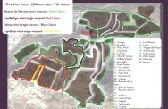 Finca Ygay Sub Vineyard Map