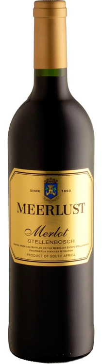 Meerlust Merlot 2012 — Meerlust Estate