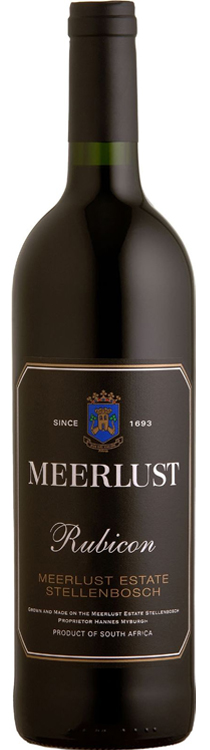 Meerlust 'Rubicon' 2010 — Meerlust Estate