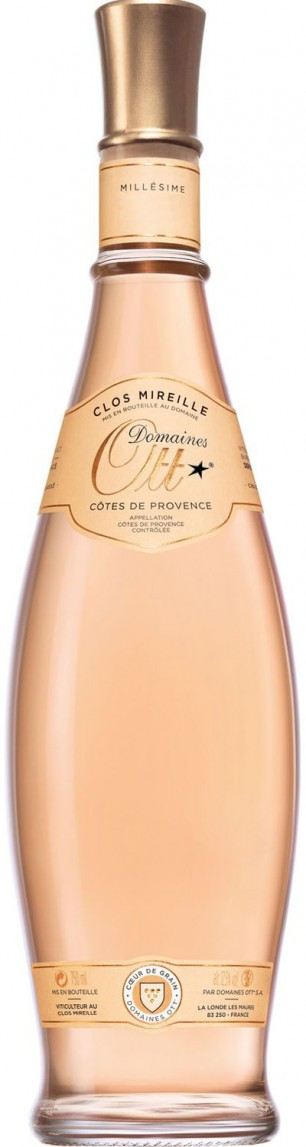 Domaines Ott Clos Mireille Cœur de Grain Rosé Côtes De Provence 2015 — Domaines Ott