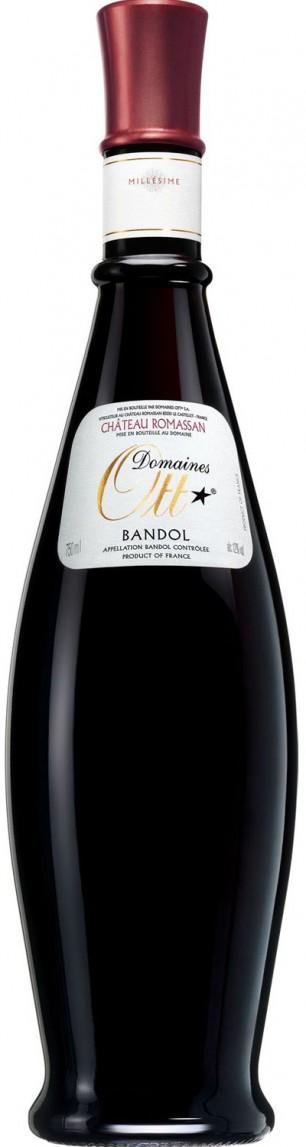 Domaines Ott Château Romassan Rouge Bandol 2011 — Domaines Ott