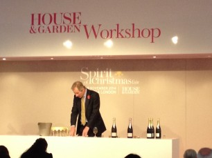 Champagne Masterclasses at Spirit of Christmas