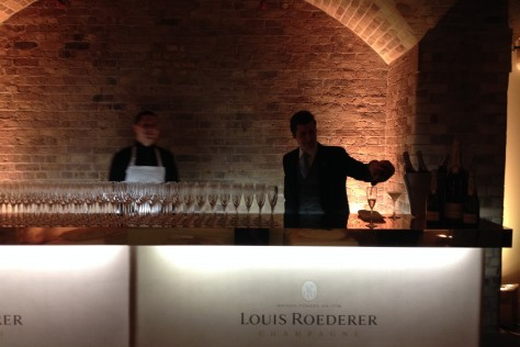 Louis Roederer supports Aston Martin DB10 Launch