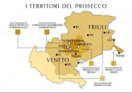 Map of Prosecco