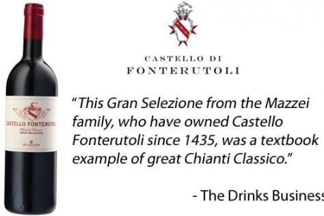 Castello Fonterutoli receives Gold Medal at Chianti Classico Masters 2015