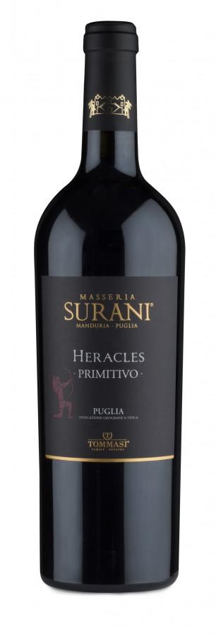 Heracles Primitivo Puglia IGT 2015 — Masseria Surani