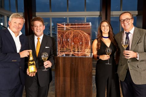 Cristal 2009 launched in Shangri-La's Sky Lounge