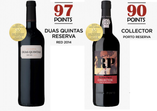 Gold and Grand Gold for Ramos Pinto's Wines!