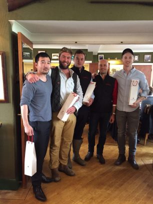 Domaine Faiveley hosts the annual Autumn Shoot