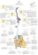 Delas Frères Rhône Map