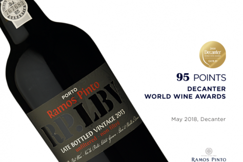 Ramos Pinto LBV 2013 Wins Gold in the DWWA!