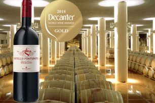Another golden success for Castello Fonterutoli 2015 in DWWA!