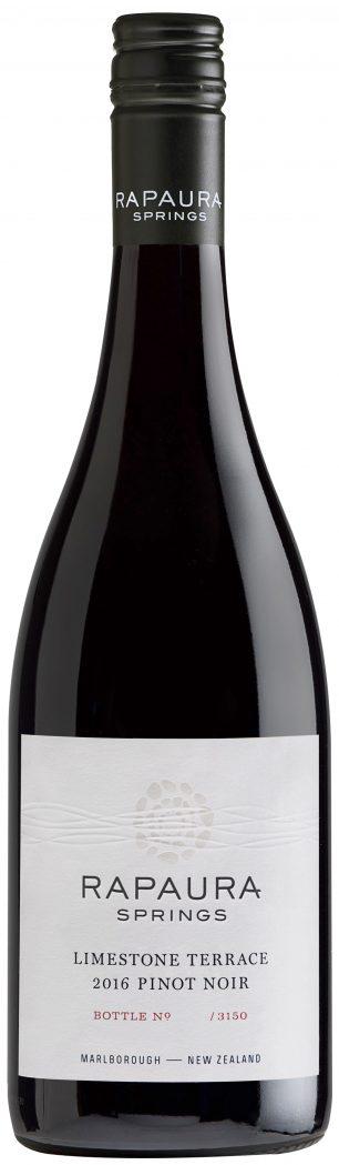 Rapaura Springs Limestone Terrace Pinot Noir 2016 — Rapaura Springs