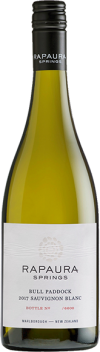 Bull Paddock Sauvignon Blanc 2017 — Rapaura Springs