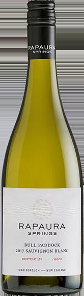 Rapaura Springs Bull Paddock Sauvignon Blanc 2017 — Rapaura Springs
