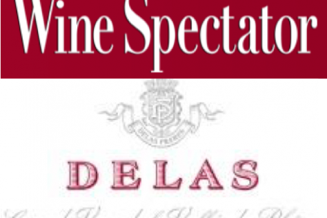 Delas Frères Scores Highly in Wine Spectator