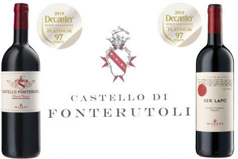 Fonterutoli takes home 2 Platinum DWWA Awards!