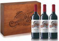 Castillo Ygay 3 Bottle Wooden Box