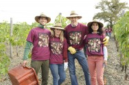The Team at Harvest <br> (Roberto, Sabine, Marco & Cecilia)