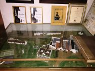 A maquette of Meerlust Estate
