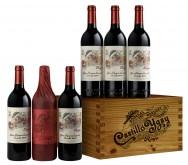 Castillo Ygay 6 Bottle Wooden Box