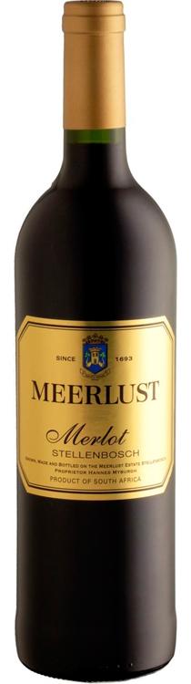 Meerlust Merlot 2010 — Meerlust Estate