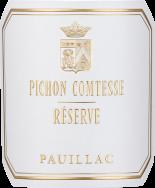 Pichon Comtesse Reserve New Label