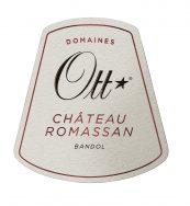 Chateau Romassan Rouge Label
