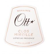 Clos Mireille Rose Label