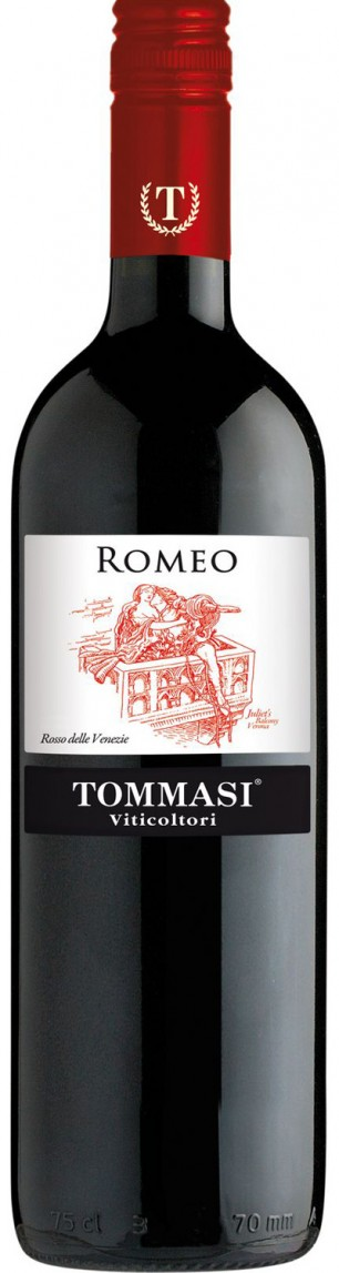 Tommasi 'Romeo' Rosso IGT 2013 — Tommasi
