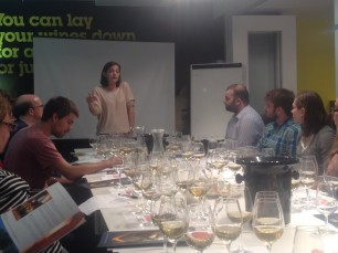 Schlumberger go West (London Wine School)