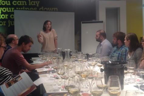 Schlumberger go West (London Wine School)