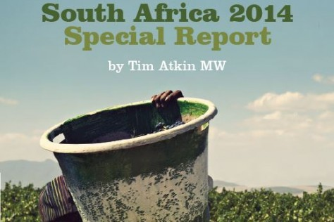 Tim Atkin's South Africa Report 2014