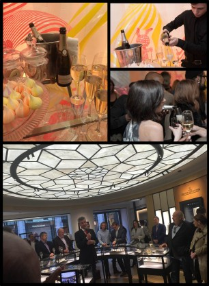 Roederer celebrates launches of Jaeger-leCoultre boutique and Karen Walker perfume