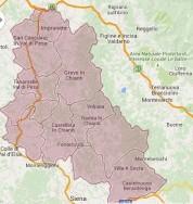 Map of Chianti Classico