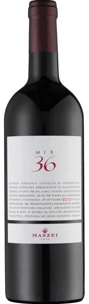 Castello Fonterutoli 'Mix 36' 2011 — Castello di Fonterutoli