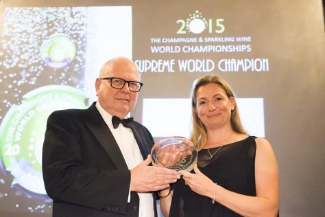 Louis Roederer Cristal Rosé 2004 named Supreme World Champion