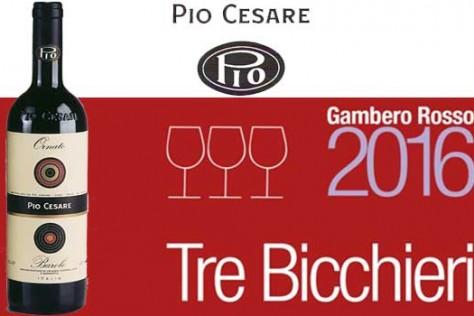 Pio Cesare Barolo Ornato 2011 received the Tre Bicchieri 2016 award
