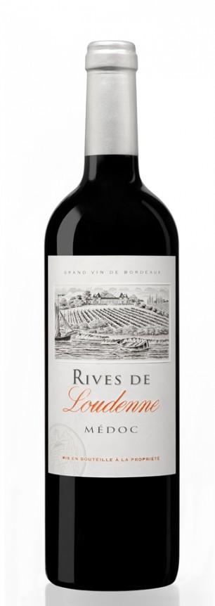 Rives de Loudenne Rouge 2010 —