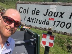 MMD's Charles Taverner completes the L'Étape du Tour!