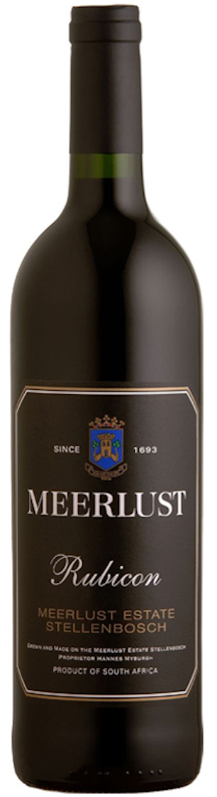 Meerlust 'Rubicon' 2013 — Meerlust Estate
