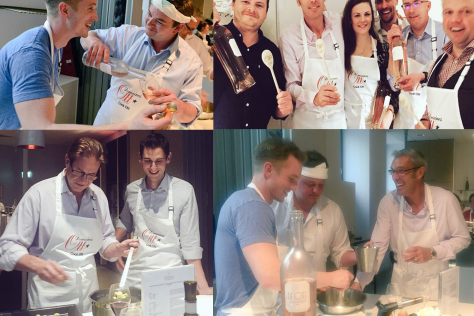 """MMD """"Cook Ott*"""" to celebrate the launch of the Clos Mireille 2016 Vintage"""
