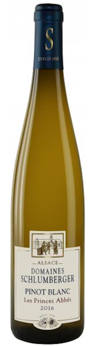 Domaines Schlumberger Pinot Blanc 'Les Princes Abbes' 2016 — Domaines Schlumberger