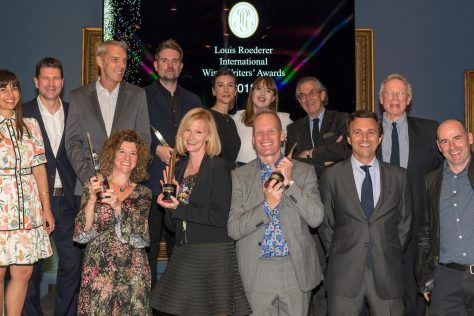 The Winners of the 2018 Louis Roederer Wine Writers' Awards are announced