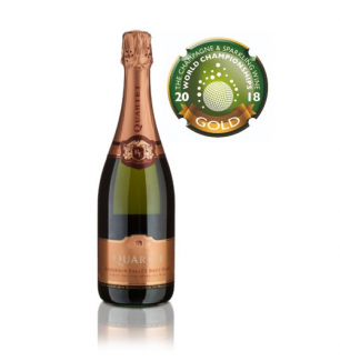 Quartet Rosé Wins Gold and Best US Sparkling Wine at the CSWWC 2018!