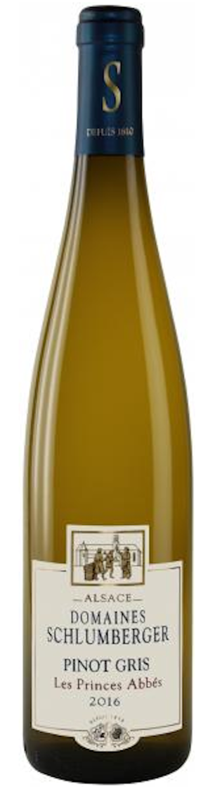 Domaines Schlumberger Pinot Gris 'Les Princes Abbes' 2016 — Domaines Schlumberger