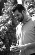 Winemaker Olivier Bailly