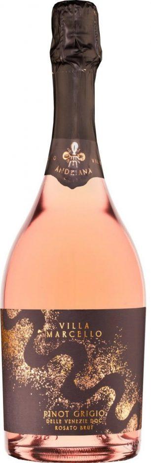 """""""Andriana"""" Pinot Grigio delle Venezie DOC Rosato Brut Rosé 2017 — Villa Marcello"""