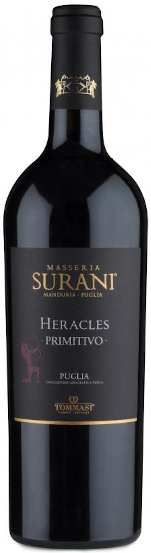 Heracles Primitivo Puglia IGT 2017 — Masseria Surani